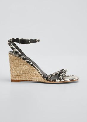 Sigerson Morrison Justice Wedge Sandals
