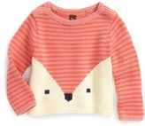 Tea Collection Girl's Fox Sweater
