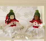 Pottery Barn Kids Plush Ice Skater Ornament
