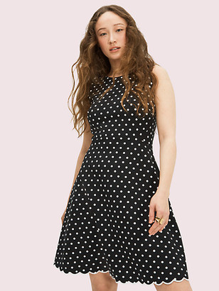 Kate Spade Cabana Dot Ponte Dress