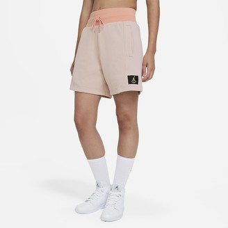 Nike Women's Fleece Shorts Jordan Flight