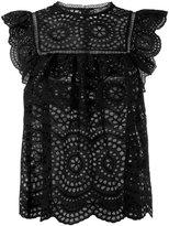 Zimmermann Sleeveless Lace Blouse - women - Cotton - 2