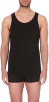 Calvin Klein Modern stretch-cotton tank tops pack of 2