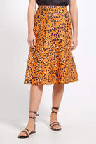 Sportscraft Sierra Animal Print Linen Skirt
