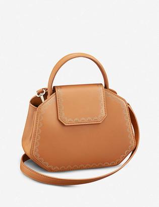 Cartier Guirlande de mini leather handbag