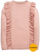 Very Girls Frill Knitted Jumper
