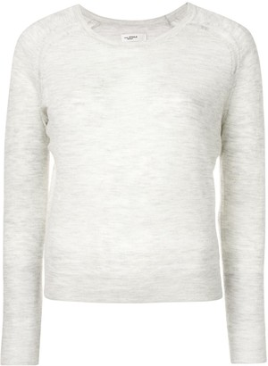 Etoile Isabel Marant long sleeved melange knit top