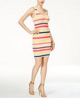 GUESS Brit Striped Ribbed Tank Dress
