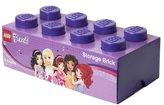 Lego Friends Storage Brick 8, Lilac