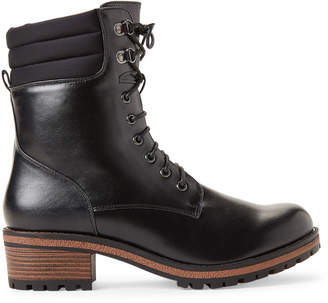 Wanted Black Oregon Lace-Up Boots