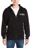 Famous Stars & Straps Men's Influx Zip Hoodie Sweatshirt