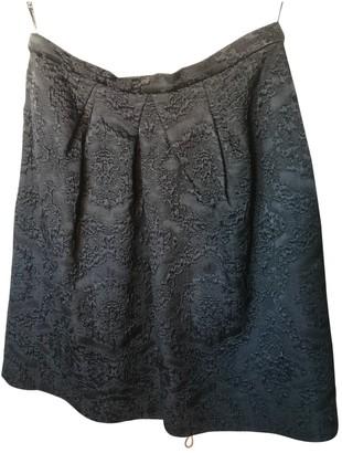 Christian Dior Black Wool Skirt for Women