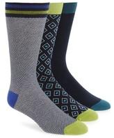 Ted Baker Men's 3-Pack Socks