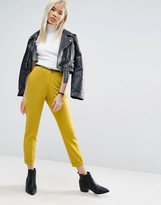 Asos Cigarette Pants With Belt