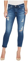AG Adriano Goldschmied Prima Crop in 14 Years Radiant Blue Women's Jeans