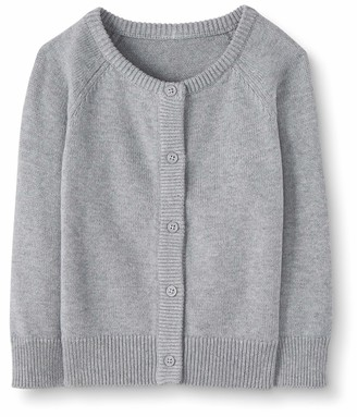 Moon and Back by Hanna Andersson Moon and Back Girls' Baby Toddler Cardigan Sweater
