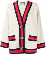 Gucci embellished oversized cardigan
