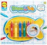 Alex Bathtub Crayons Holder Toy, Set of 6
