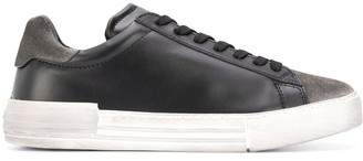 Hogan Contrast Panel Low-Top Sneakers