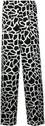 FEDERICA TOSI patterned flared trousers