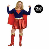 Asstd National Brand Supergirl DC Comics 3-pc. Dress Up Costume