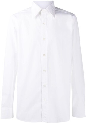 Tom Ford Pointed Collar Formal Shirt
