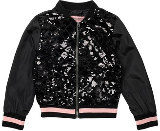 Urban Republic Sequin Bomber Jacket (Big Girls)