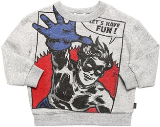 Little Marc Jacobs Superhero Printed Cotton Sweatshirt