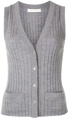 Dion Lee Button-Down Knitted Vest