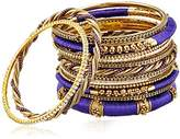 Amrita Singh Rupal Purple Set Bangle Bracelet