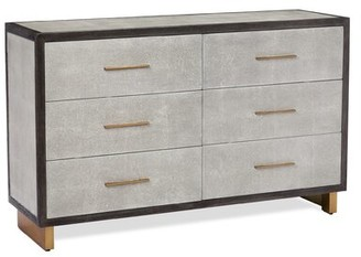 Interlude Maia 6 Drawer Double Dresser