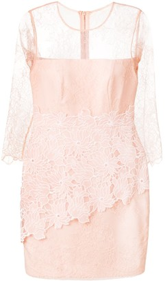 Three floor Great Heights lace fitted dress