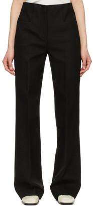 Joseph Black Cotton Twill Toris Trousers