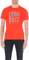 HUGO BOSS Logo-print modern-fit cotton-jersey t-shirt