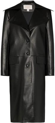 MATÉRIEL Leather Effect Trench Coat