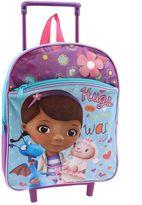 "Disney Disney's Doc McStuffins ""Hugs Are On the Way"" Rolling Backpack - Kids"