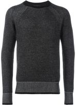 Belstaff contrast ribbed sweater