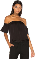 Milly Silk Bare Shoulder Top