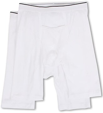 Jockey Pouch Athletic Midway(r) Brief 2-Pack (White) Men's Underwear