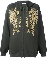 P.A.R.O.S.H. embroidery detail hoodie - women - Cotton - S