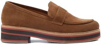 Nice Things Cinnamon Suede Loafer - 6