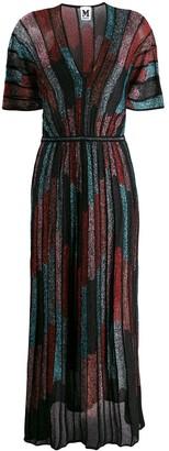 M Missoni lurex maxi dress
