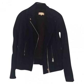 Heimstone Blue Suede Jacket for Women