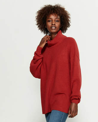 Free People Softly Structured Sweater Tunic