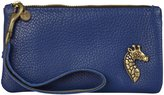 Moss Mills Giraffe Wristlet (Women) - Vintage brass on Electric Blue