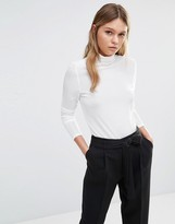 Fashion Union High Neck Top With Pleated Detailing
