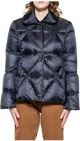 Fay Blue Quilted Short Jacket Down
