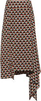 Marni Asymmetrical Hem Skirt