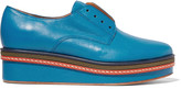 M Missoni Leather brogues