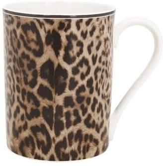 Roberto Cavalli Jaguar Bone China Mug
